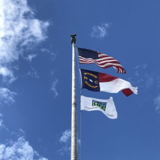 Donate Life Flag in Honor of Organ Donor