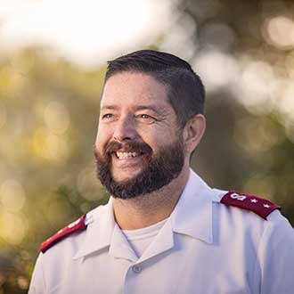 Captain Philip Stokes, Salvation Army, Orthopedic Patient