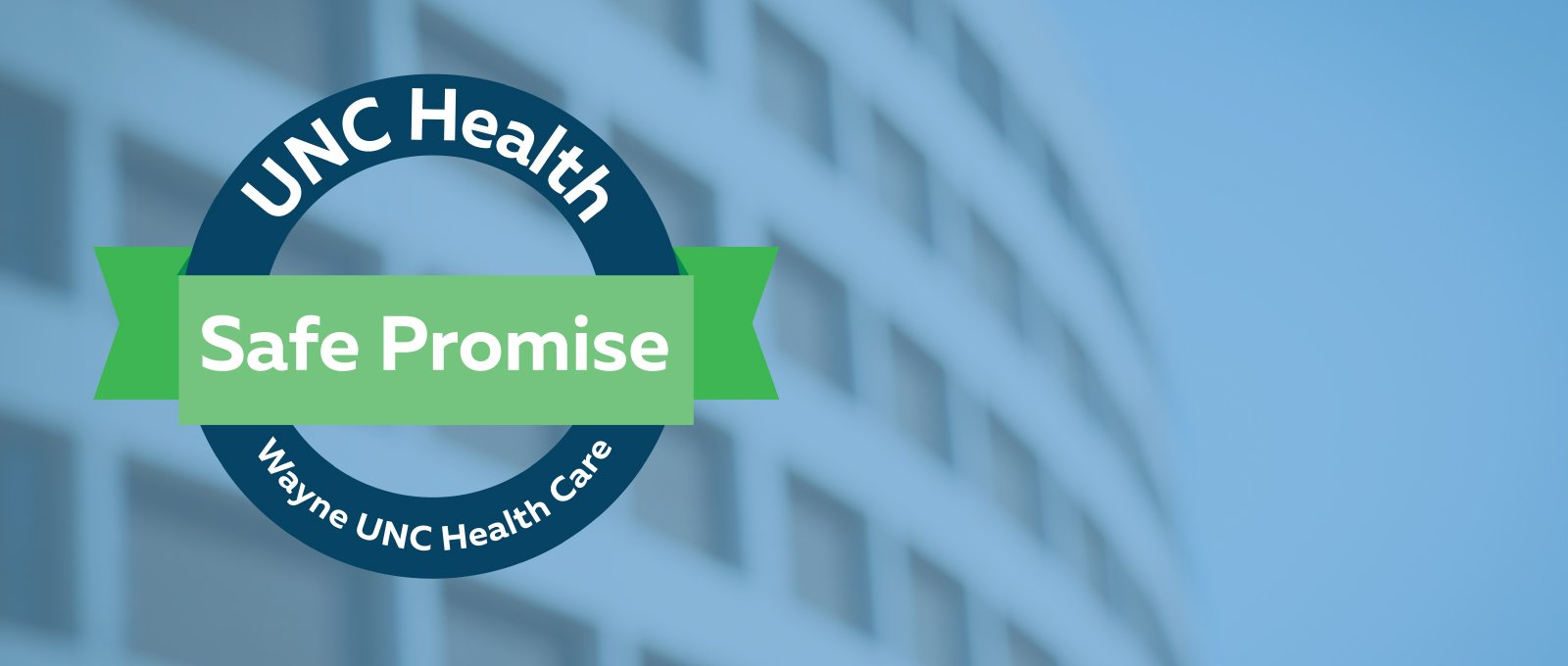 UNC Safe Promise Banner image