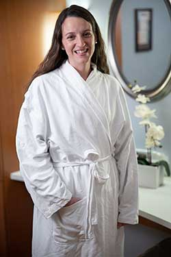 Plush Robes for Patients Receiving Mammograms
