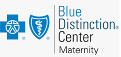 Picture of Blue Cross Blue Shield maternity center logo
